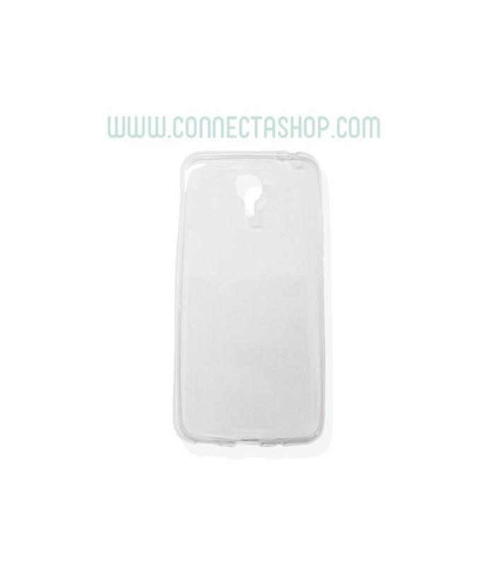 Funda Silicona Transparente Meizu M2 Note Básica