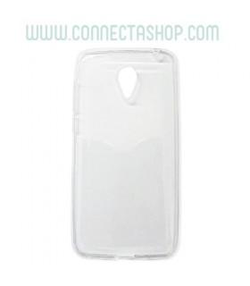 Funda silicona transparente Meizu M2
