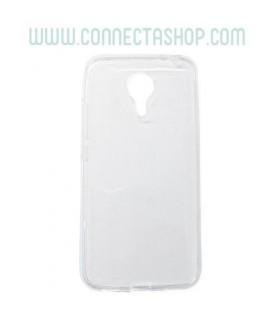 Funda silicona transparente Meizu MX5
