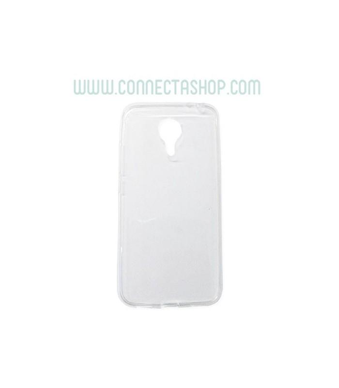 Funda Silicona Transparente Meizu MX5 Básica