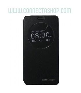 Funda con tapa Ulefone Be Touch 2 - Negra