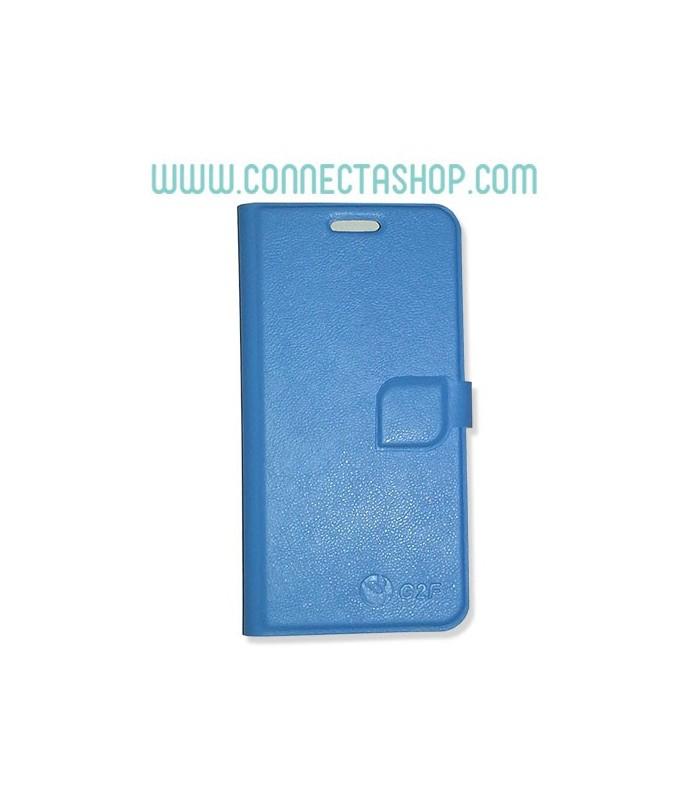 Funda tipo libro original Jiayu G2F - azul celeste