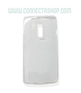 Funda silicona transparente OnePlus X