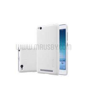 Funda Frosted Xiaomi Redmi 3 NILLKIN - Blanca