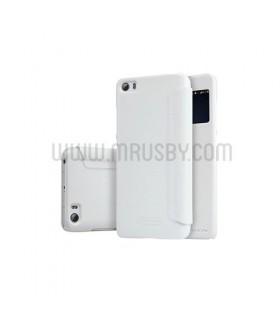 Funda Tapa Xiaomi Mi5 NILLKIN - Blanca