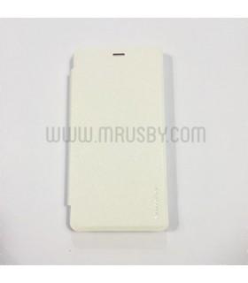 Funda con tapa Xiaomi Redmi 3 Básica Blanca