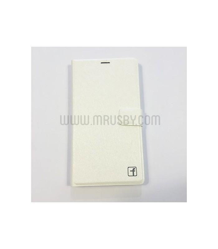 Funda tipo libro  Meizu M3 Note Básica Blanca