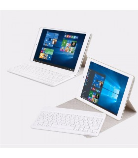 Funda tipo libro con teclado teclast x98 plus I - blanca