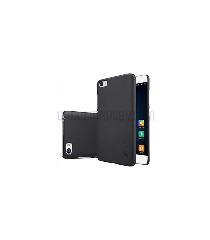 Funda frosted Xiaomi Mi5S Plus NILLKIN Negra