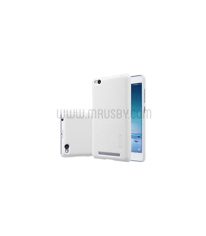 Funda Frosted Xiaomi Redmi 4 NILLKIN - Blanca