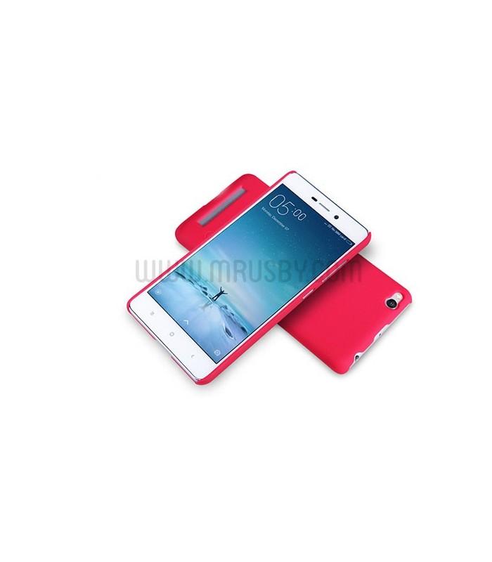 Funda Frosted Xiaomi Redmi 4 NILLKIN - Roja