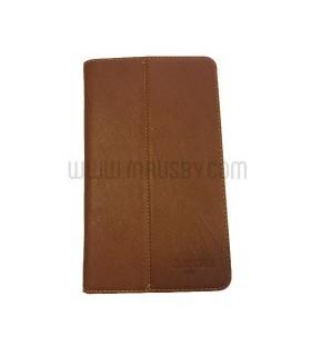 Funda tipo libro Marón Teclas P80
