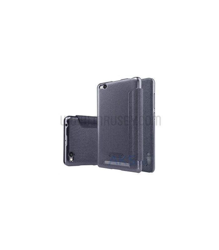 Funda con tapa Xiaomi Mi5s Plus negra Basica