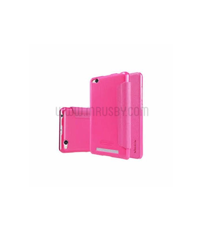 Funda con tapa Xiaomi Redmi 4X  Nillkin - Rosa
