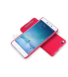Funda frosted Xiaomi REDMI 4X NILLKIN - roja