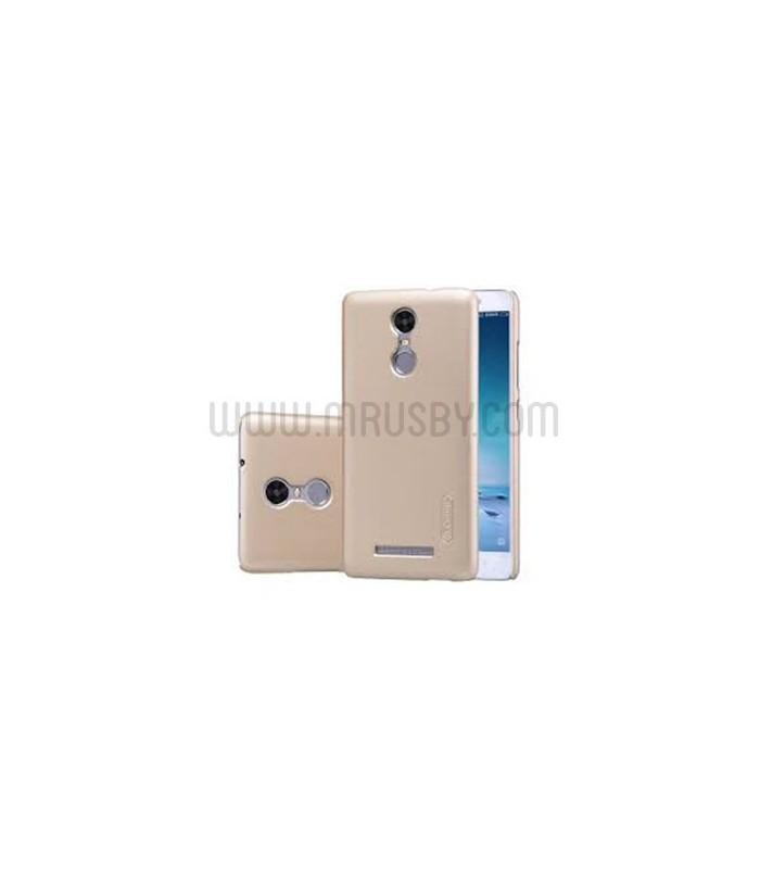 Funda frosted Xiaomi Redmi Note 3 NILLKIN - dorada