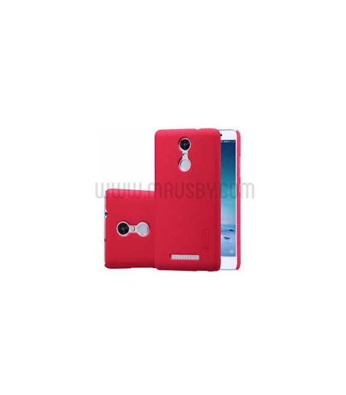 Funda frosted Xiaomi Redmi Note 4 / GLOBAL  NILLKIN - roja
