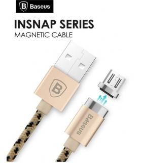 Cable micro usb magnético dorado Baseus