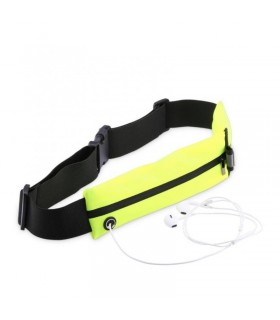 """Riñonera / cinturón verde 5,5"""" o menos Baseus"""