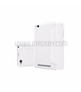 Funda con tapa Meizu M5 Note NILLKIN Blanca