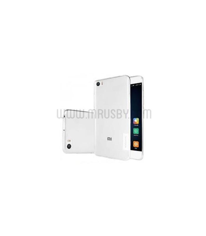 Funda Silicona Xiaomi OnePlus 5 Transparente NILLKIN