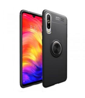 Funda silicona con anilla Xiaomi MI9 SE NEGRA