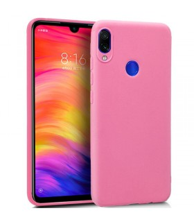 Funda Silicona Xiaomi Redmi Note 7 / Note 7 Pro (Rosa) Cool