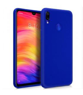 Funda Silicona Xiaomi Redmi Note 7 / Note 7 Pro (Azul Oscuro) Cool