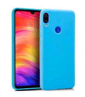 Funda Silicona Xiaomi Redmi Note 7 / Note 7 Pro (Azul Claro) Cool