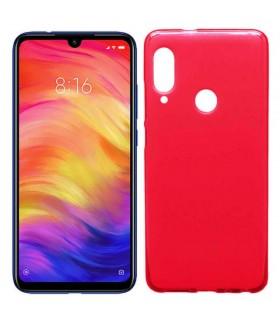 Funda Silicona Xiaomi Redmi Note 7 / Note 7 Pro (Roja) Cool