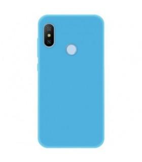 Funda Cover Slim Xiaomi Mia2 lite Azul Pastel