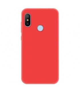 Funda Cover Slim Xiaomi Mia2 lite Rojo