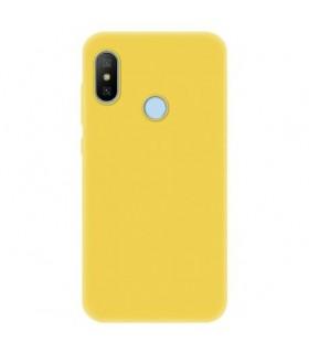 Funda Cover Slim Xiaomi Mia2 lite Amarillo Cálido
