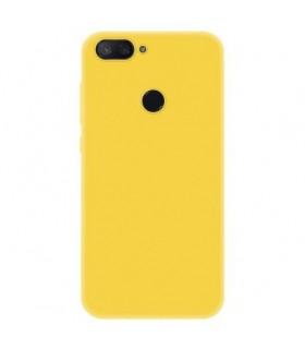 Funda Cover Slim Xiaomi Mi8 lite Amarillo Cálido