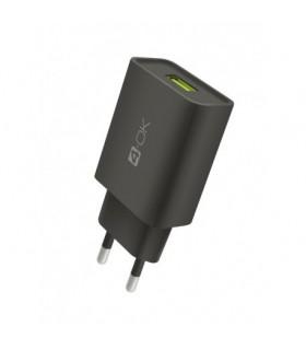 CARGADOR DE CASA USB 2.4A + CABLE