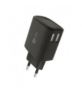CARGADOR DE CASA 2 USB 3.4A + CABLE