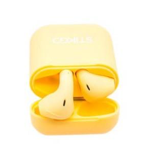 Auriculares inalambricos Premium STIKGO Amarillo