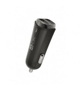 Cargador Coche Micro USB + Tipo C 3,4A