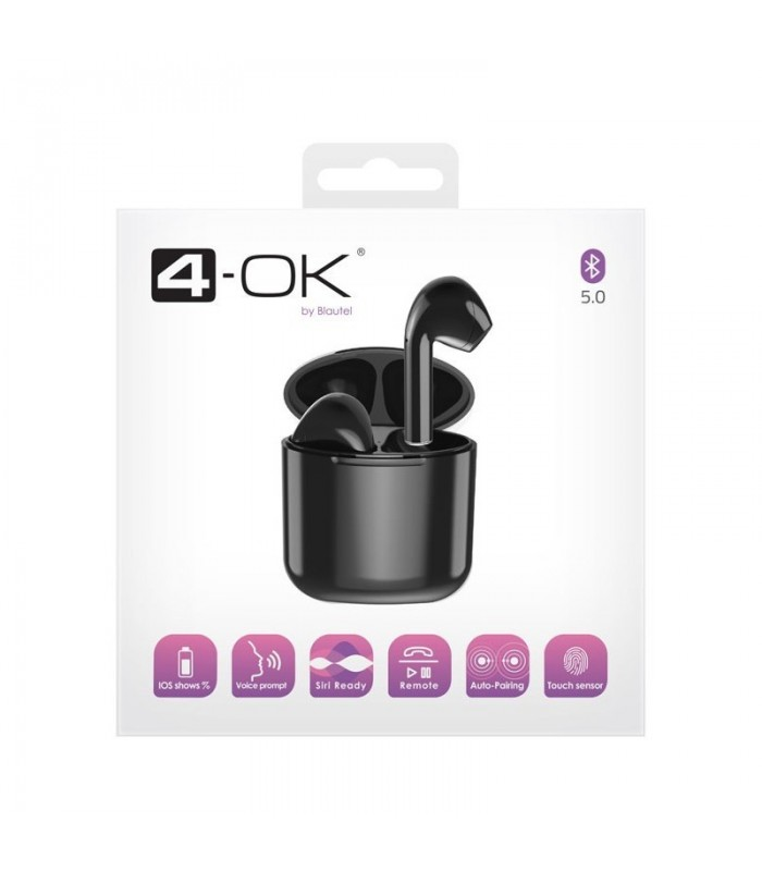Auricular Bluetooth TWS- Manos libres Negro