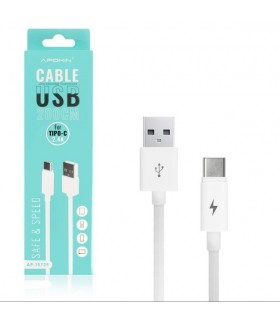 Cable Micro USB a TIPO C 2,4A 2m
