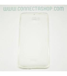 Funda silicona Coolpad F1 translúcida transparente