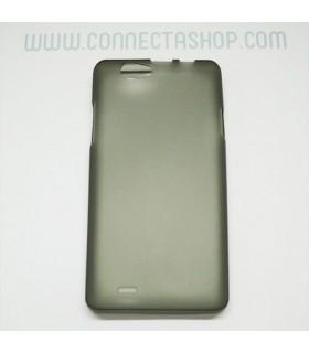 Funda silicona Thl 4400/5000 negro translúcido