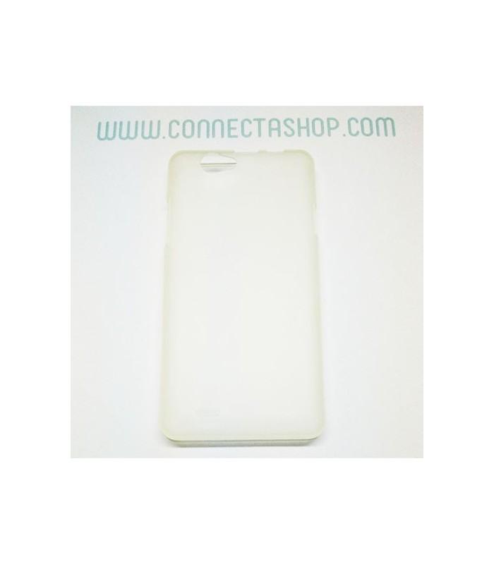 Funda silicona Thl 4400/5000 blanco translúcido