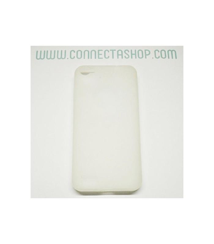 Funda silicona Jiayu G4 original translúcido