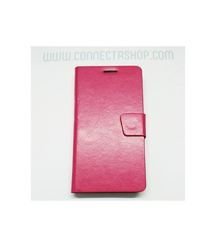 Funda tipo libro Xiaomi Mi4 rosa