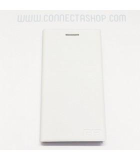 Funda tipo libro original Elephone P2000 - blanca