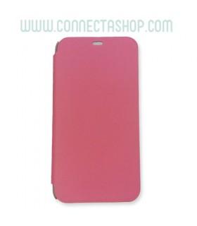 Funda con tapa Meizu M1 Básica Rosa