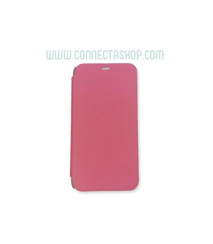 Funda tipo libro Meizu M1 rosa