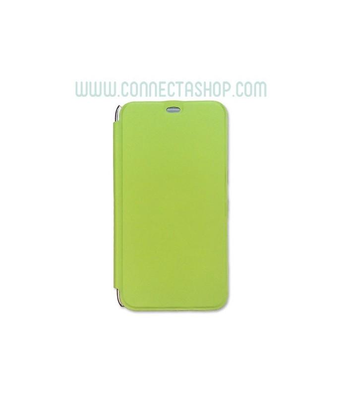 Funda tipo libro Meizu M1 verde