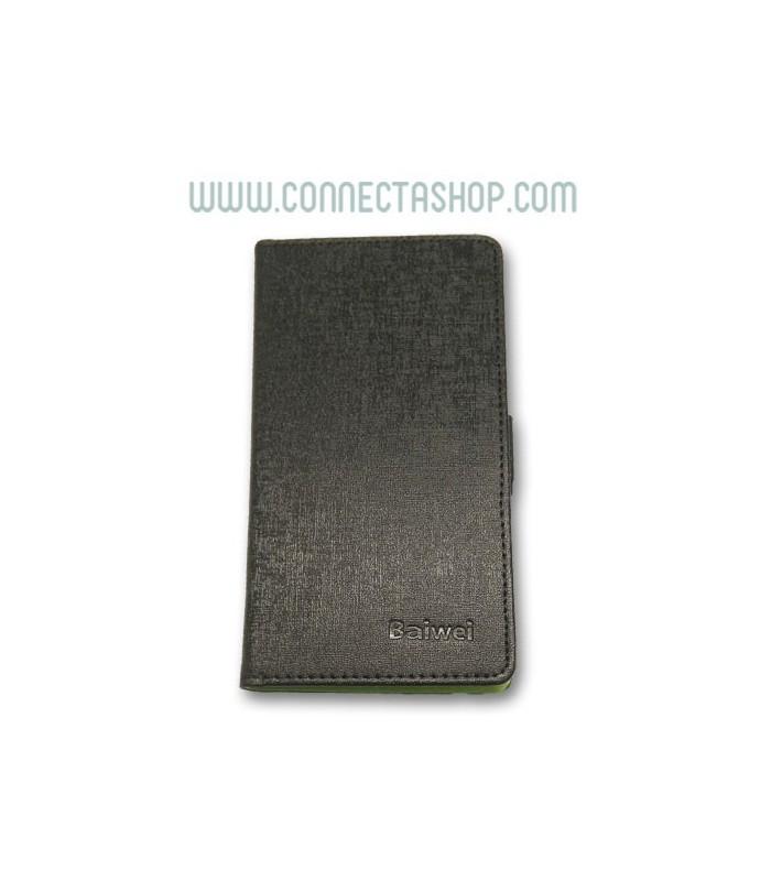Funda Tipo Libro Elephone P8 Pro Negra